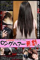 毛髪悪戯団ヘアベアーズのロングヘアー悪戯 no.6